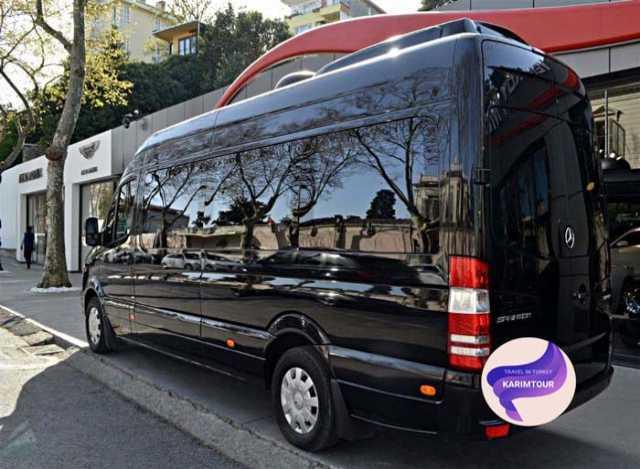 مرسيدس سبرنتر مع سائق في اوزنجول