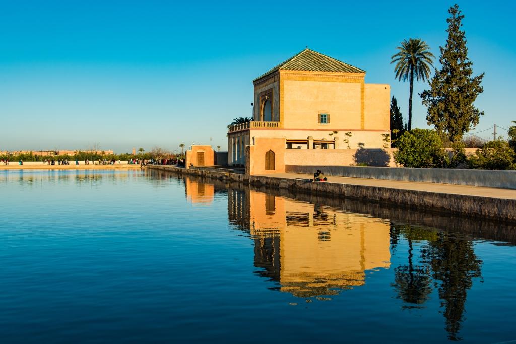 مراكش المنارة المغرب