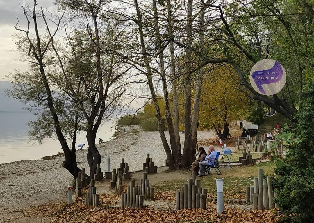 اطلالة على البحيرة بسبانجا