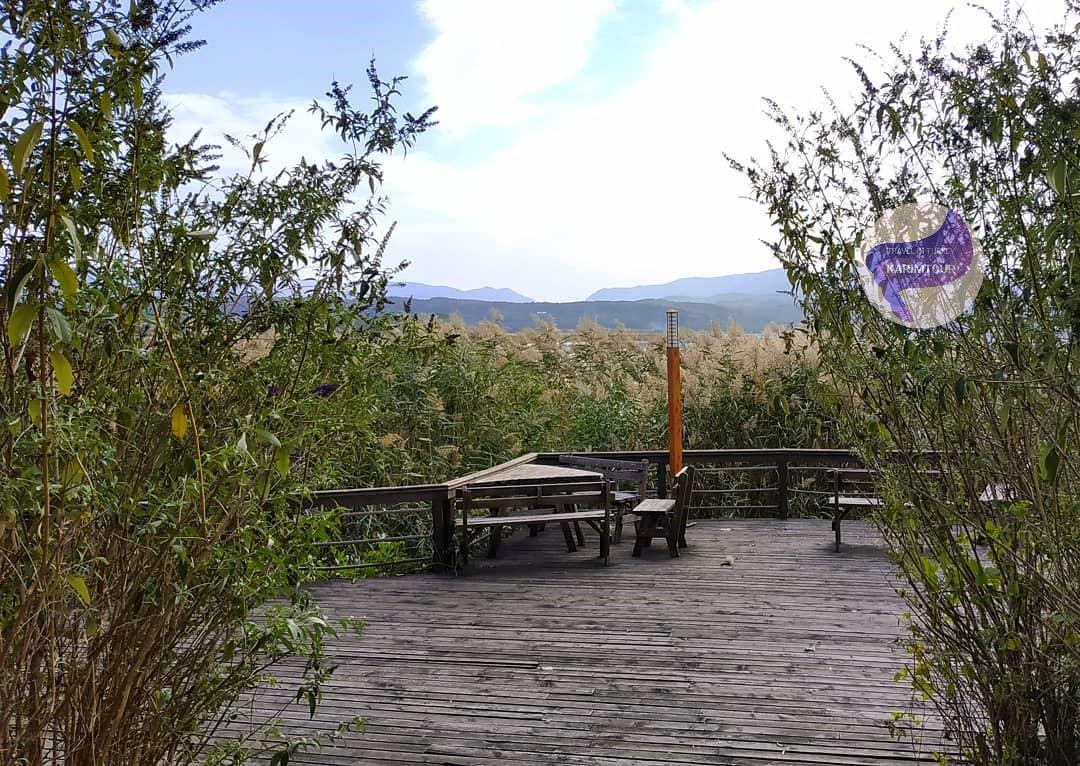 اماكن الجلوس في منتزه سبانجا