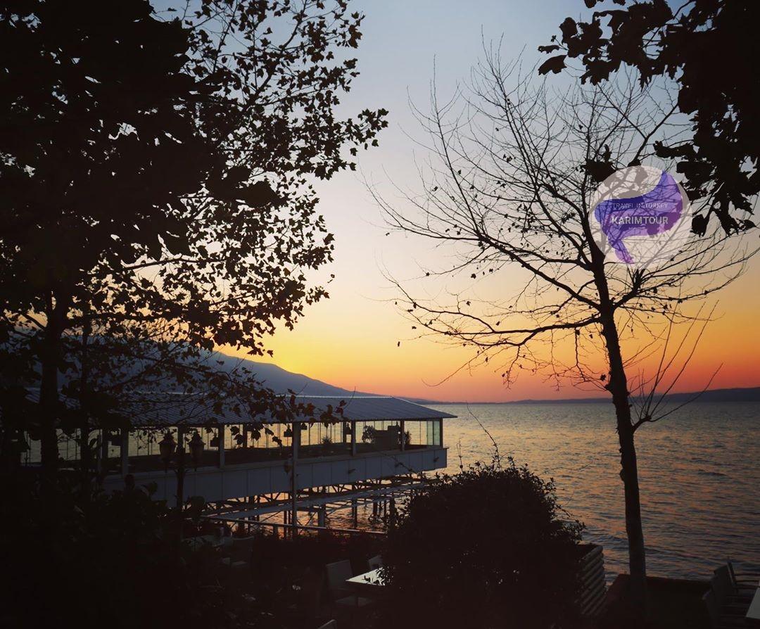 منظر طبيعي لبحيرة سبانجا
