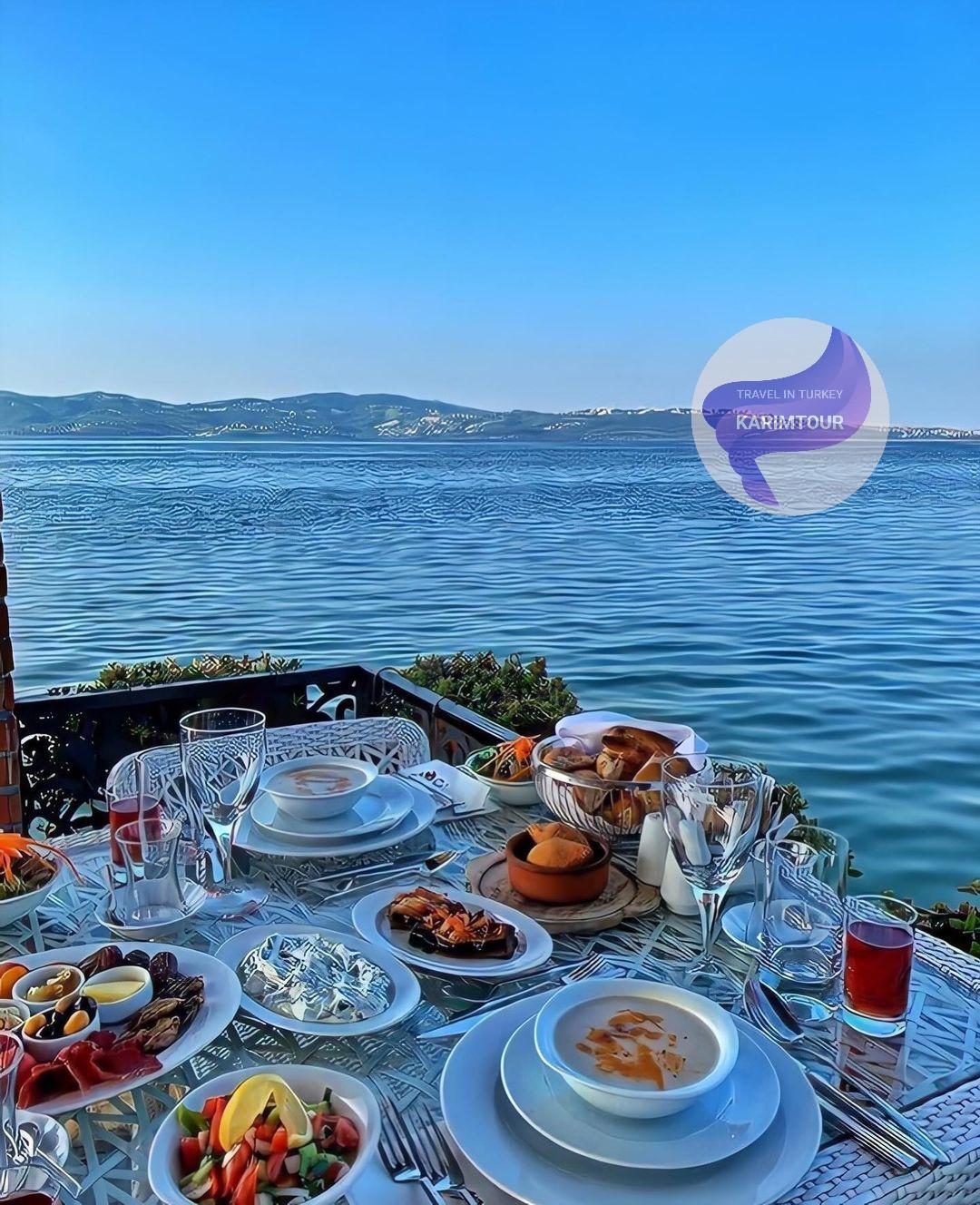 الافطار في ضفاف بحيرة سبانجا