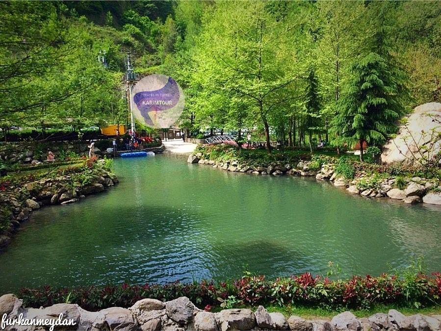 بحيرة سبانجا التركية