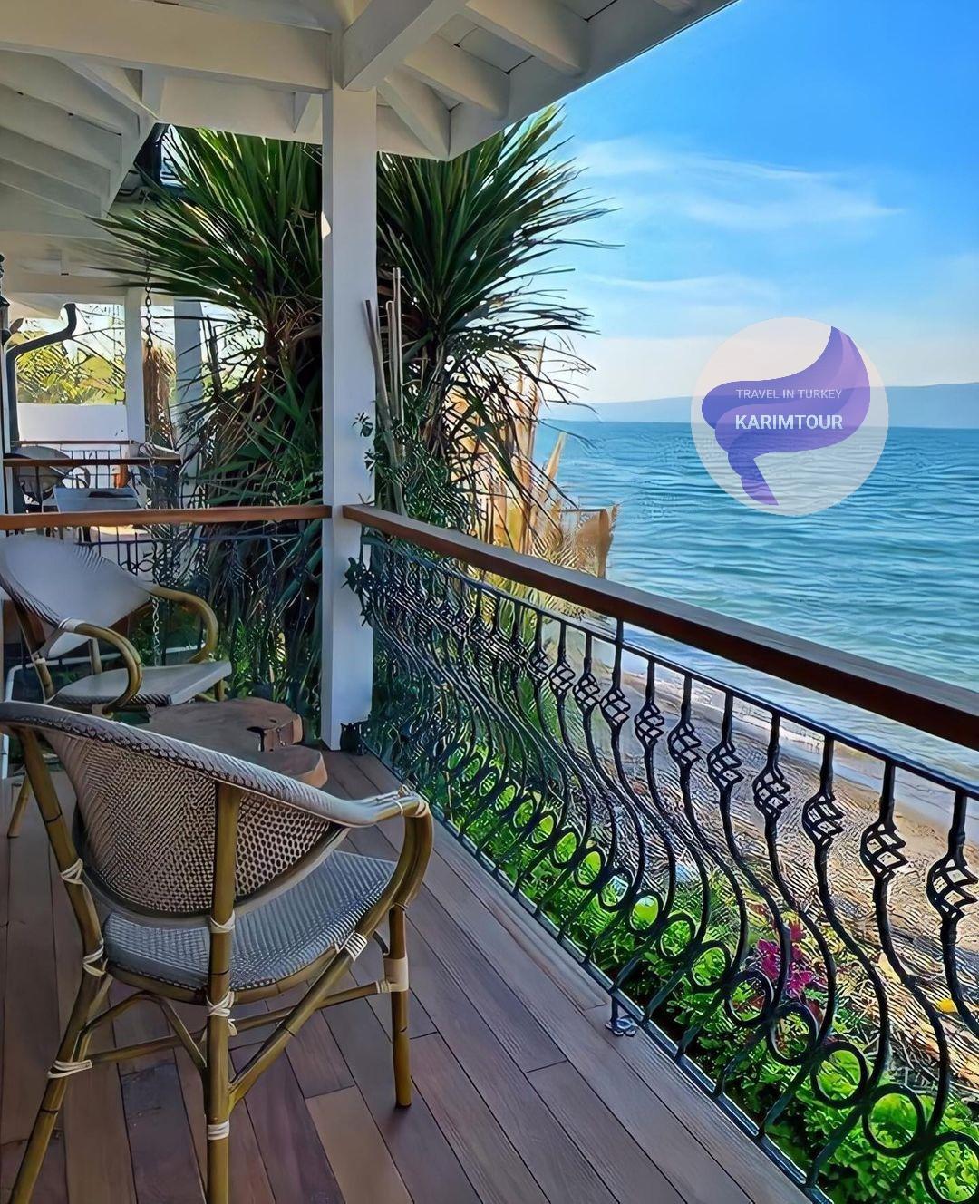 فندق مطل على بحيرة سبانجا