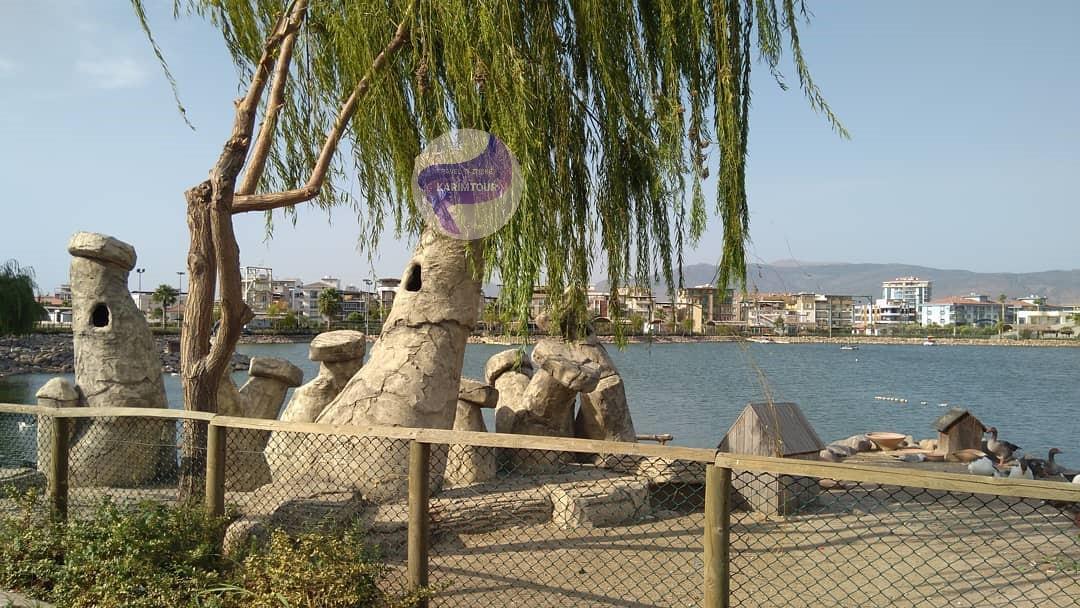 ضفة بحيرة سبانجا وشلالات معشوقية