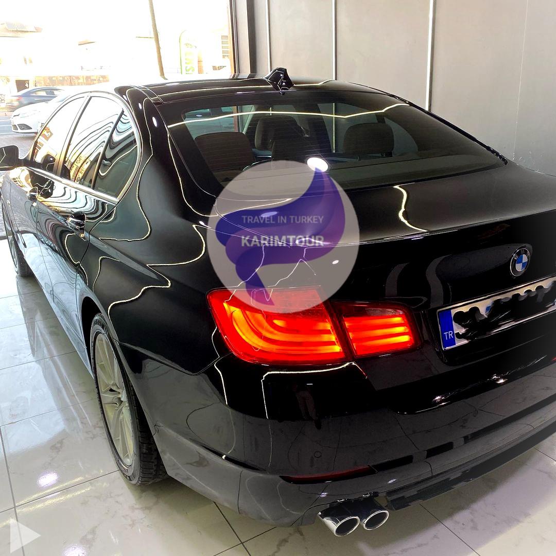 ايجار سيارة مع سائق عربي في طرابزون