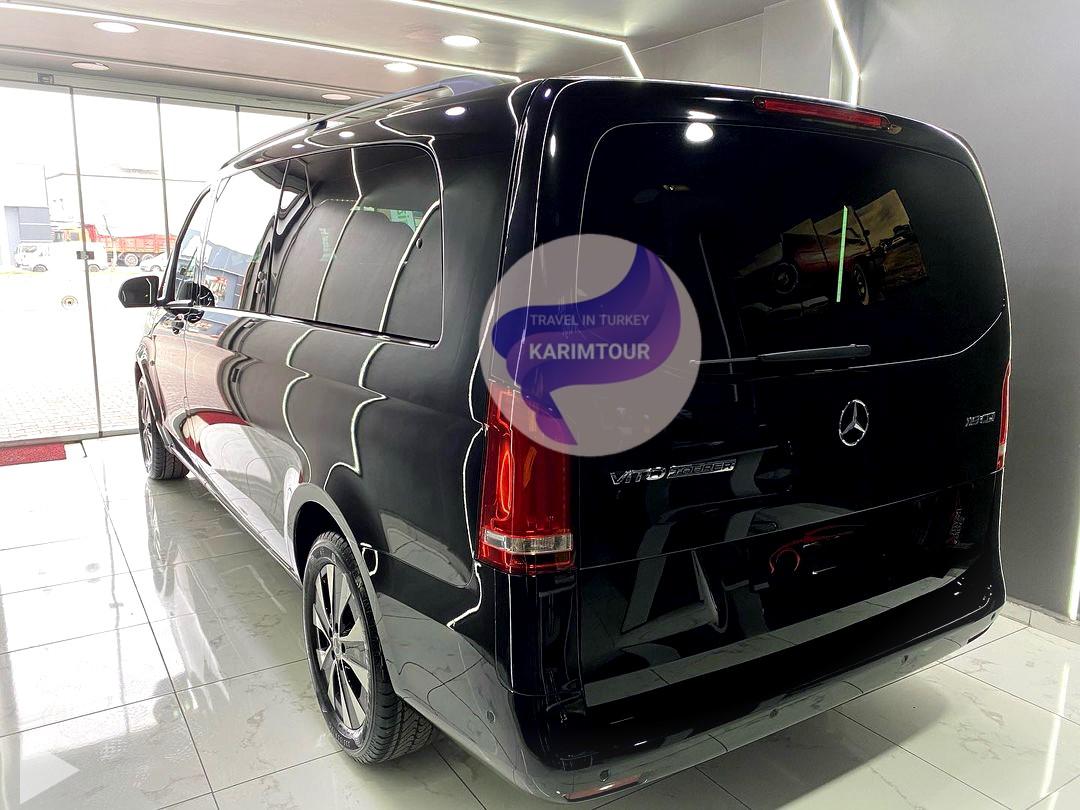 سيارة مع سائق في طرابزون شركة كريم تور